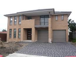 exterior design mesmerizing boral brick for home exterior design appealing exterior design with boral brick plus glass windows and double garage doors
