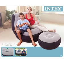 Intex Sofa Bed by Intex Inflatable Ultra Lounge With Ottoman 68564 Devil Deals