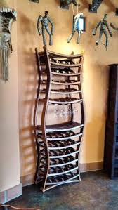 oak whiskey barrel stave wine bottle rack by spiritguy on etsy