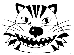 coloring pages halloween masks halloween masks to print out