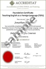 diploma samples certificates sample certificates tefl tesol students accreditat
