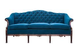 vintage velvet sofa omero home