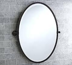 Antique Bronze Bathroom Mirrors Pivoting Bathroom Mirrors Pivot Mirror Large Oval Antique Bronze