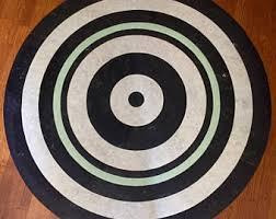linoleum rugs by inlayfloors on etsy