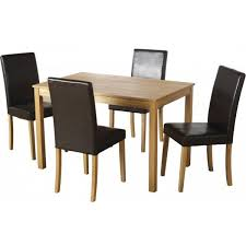 small dining table set for 4 cheap seconique ashmere small ash vaneer dining table set 6
