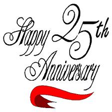 25 year wedding anniversary free 25 wedding anniversary cliparts free clip free