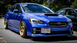 subaru blue 2017 loudest 2017 subaru impreza wrx sti exhaust sounds youtube