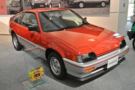 Honda Crx 1987 Crucial Cars We Put The Spotlight On The Honda Crx