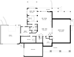 basement plan olmstead 2288 4 bedrooms and 4 5 baths the house designers