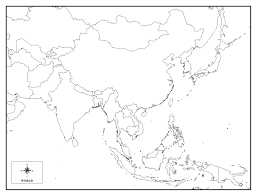 Map Of Countries Map Of Asia Countries Quiz Ambear Me