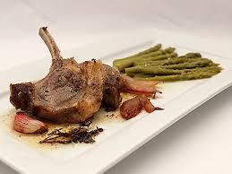 agneau cuisine côtelettes d agneau aux asperges la cuisine des jours