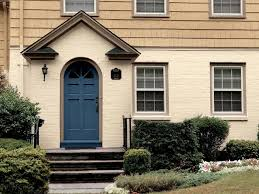 Navy Blue Front Door Blue Front Door For A Warm And Friendly House Homestylediary Com