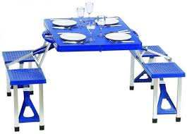 Portable Folding Picnic Table Portable Foldable Picnic Table And Seats Price Review And Buy In