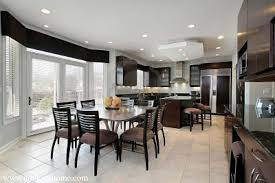kitchen and dining room design awesome black dining table stunning kitchen and dining room