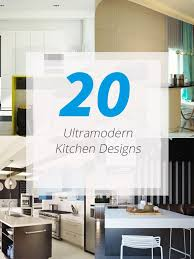 ultra modern kitchen design 20 ultra modern kitchens every cook would love to own home design