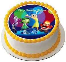 inside out cakes inside out anger 1 edible birthday cake or cupcake topper edible