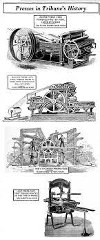 history of the tribune presses