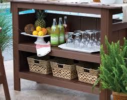 Polywood Sofa Poly Lumber Outdoor Bar