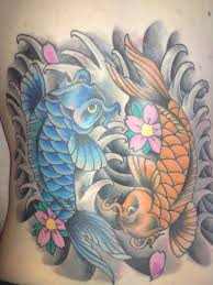 koi fish tattoo on arm 23 yin yang fish tattoos