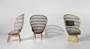 fauteuil en corde fauteuil contemporain en corde en teck en aluminium cala
