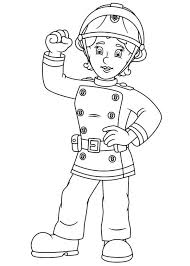 fireman sam friend penny morris coloring fireman sam friend