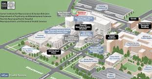 map of ucla overview of ucla health system at westwood la and ucla cus maps