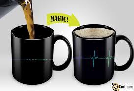 cortunex magic mugs amazing new heat sensitive color changing