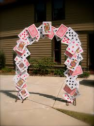 malice in wonderland halloween party card arch for alice in wonderland party props pinterest
