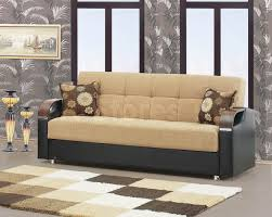 Black Leather Sofa Bed Furniture Elegant Beige Leather Couch For Comfort Your Home