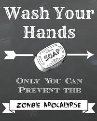 free printable zombie images dorothy sue and millie b s too free zombie apocolypse chalkboard