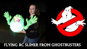 flying halloween ghost ghostbusters slimer flying rc halloween ghost youtube