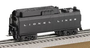lionel lines steam trainsounds tender