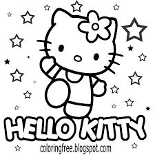100 kitty colouring hello kitty colouring page colouring
