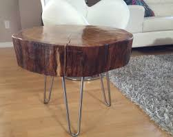 coffee table and hairpin legs 24