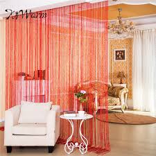 Panel Curtains Room Dividers Aliexpress Com Buy Kiwarm Colorful Fashion String Door Curtain