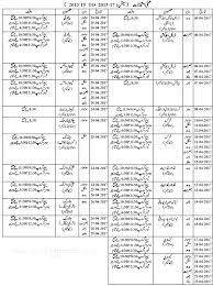 bise faisalabad board date sheet 9th class 2017