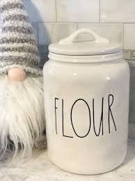 Kitchen Flour Canisters Flour Canister Rae Dunn Kitchen Mercari Buy U0026 Sell Things You Love