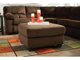 Oversized Loveseat With Ottoman Signature Design By Ashley Living Room Laf Loveseat With Half