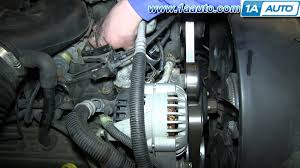 how to install replace engine coolant thermostat 5 7l 1995 99