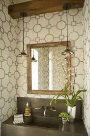 ideas chic powder bathroom paint ideas mirrored walls small