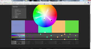 how to use adobe color wheel youtube