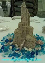 sand castle centerpieces floral centerpieces cake toppers baby