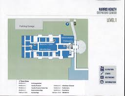 Parking Building Floor Plan Uthealth Affiliated Harris Health Programs Floor U0026 Parking Maps