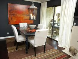 dining room orange hue for the dining room ceiling with