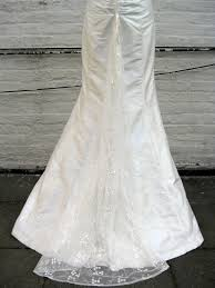 wedding dress bustle v neck trumpet wedding dress with lace bustle back shopkimera