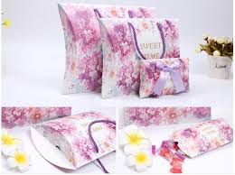 Where To Buy Boxes For Gifts Purple Large Portable Pillow Paper Gift Packaging Box Silk Packing
