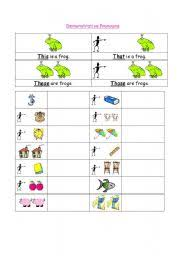 english worksheets demonstrative pronouns worksheets page 3