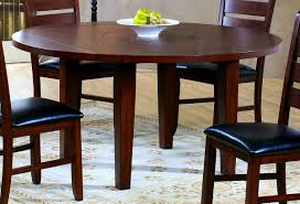 furniture awesome how amish dining table leaf storage works