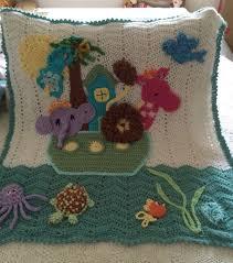 Noah S Ark Crib Bedding 8 Best Noahs Ark Images On Pinterest Blankets Crochet Blankets