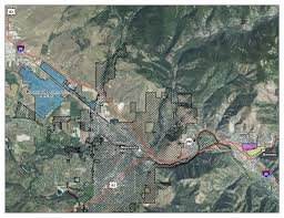 Map Of Missoula Montana by Missoula County Mt Development Districts